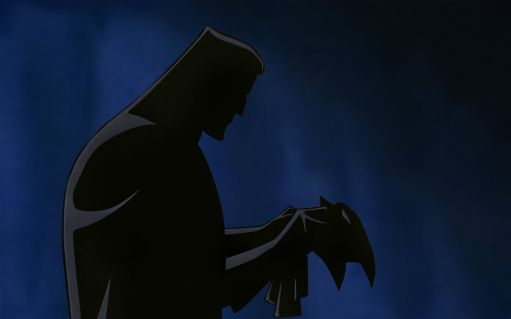 Image result for mask of the phantasm